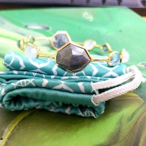 Ippolita 18k gold rock candy bangle